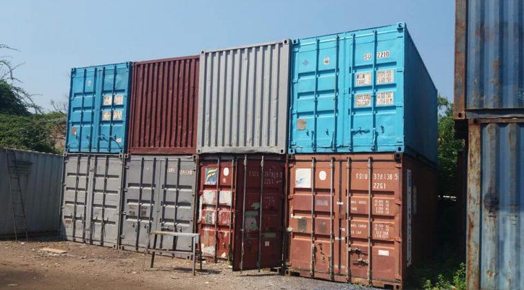 Giá bán container cũ